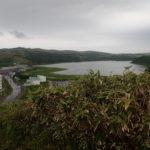 礼文島久種湖