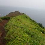 礼文島西海岸側崖