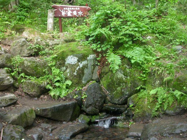 利尻島 甘露泉水