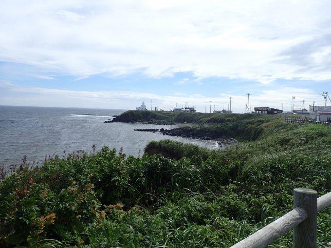 根室 納沙布岬遠景