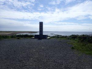 野付半島の碑