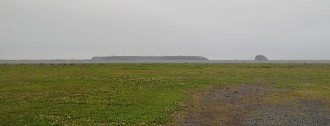 ナショナルトラストから霧多布岬遠景