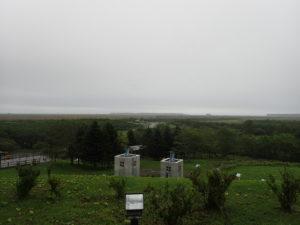 霧多布湿原センター展望