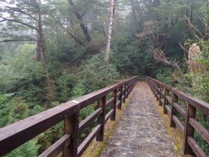 ヤクスギランド 林泉橋