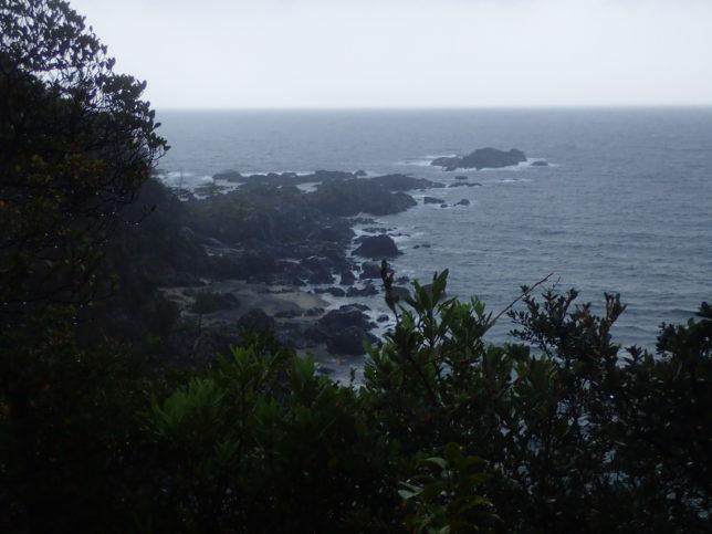 トローキの滝展望台からの海