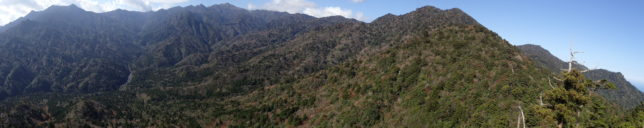 太鼓岩からの大パノラマ