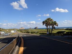 種子島宇宙センター先の海岸