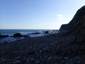 葡国人上陸の地 海岸