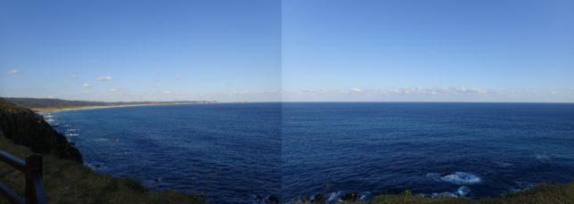 門倉岬からの展望