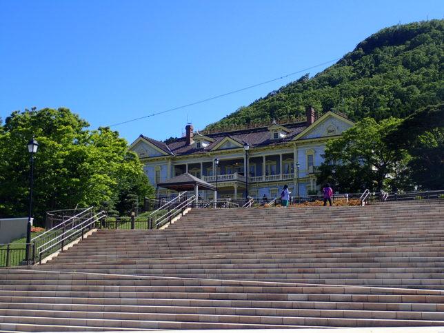 元町公園から函館山側