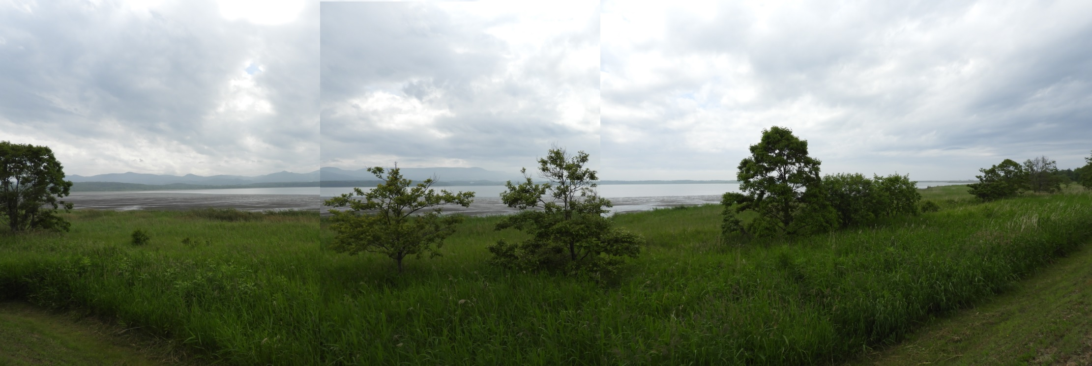 コムケ湖(全容)