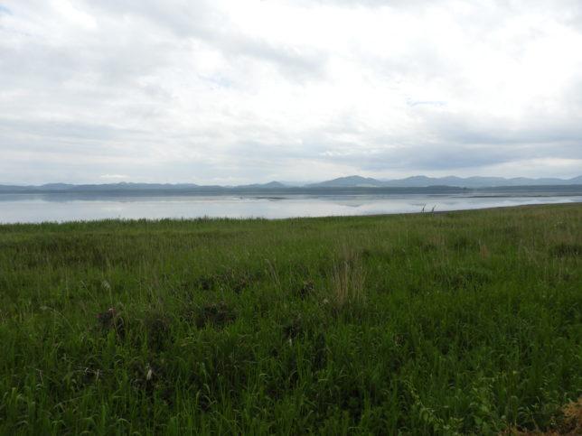 サロマ湖右方向