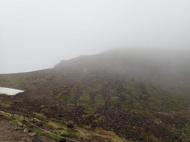 ニセ金庫岩から南方面を見下ろす