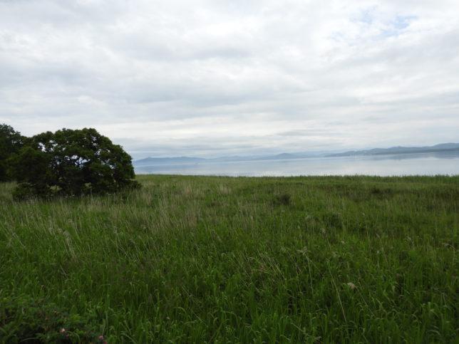 サロマ湖左方向