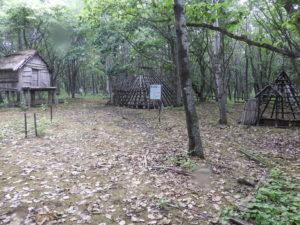 遺跡公園内の展示