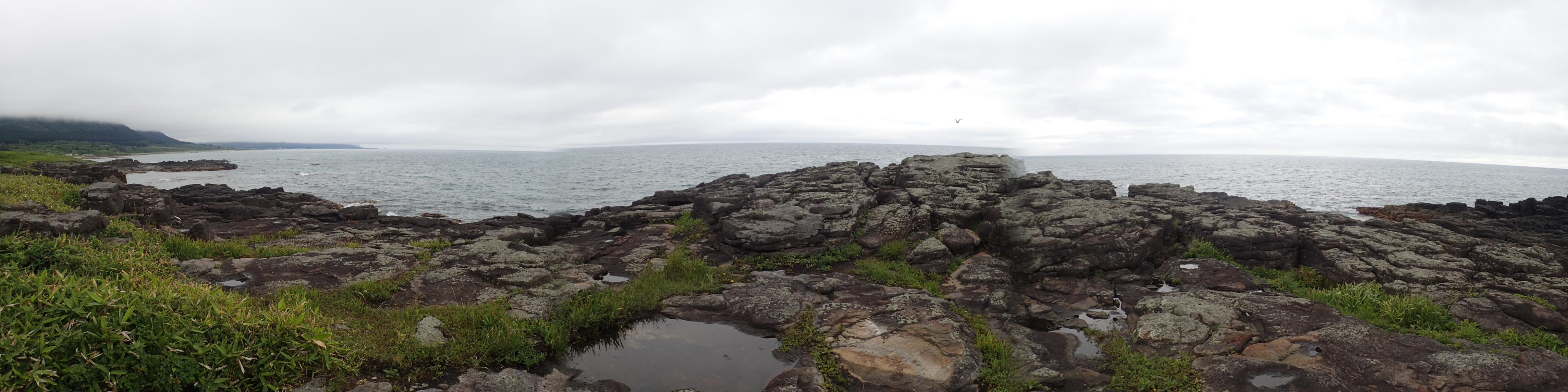 ウスタイベ千畳岩
