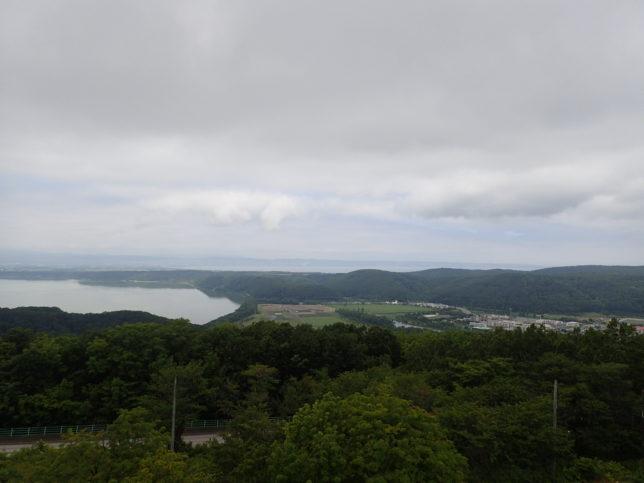 オホーツク流氷館から網走湖・能取湖