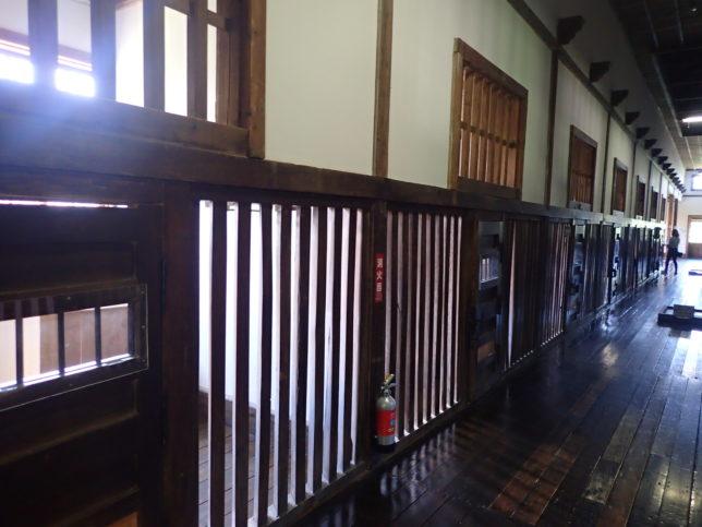 旧網走刑務所雑居房