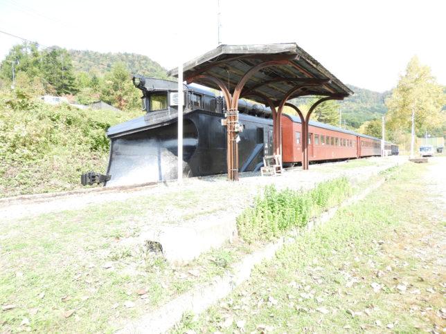 三菱大夕張鉄道車両保存地