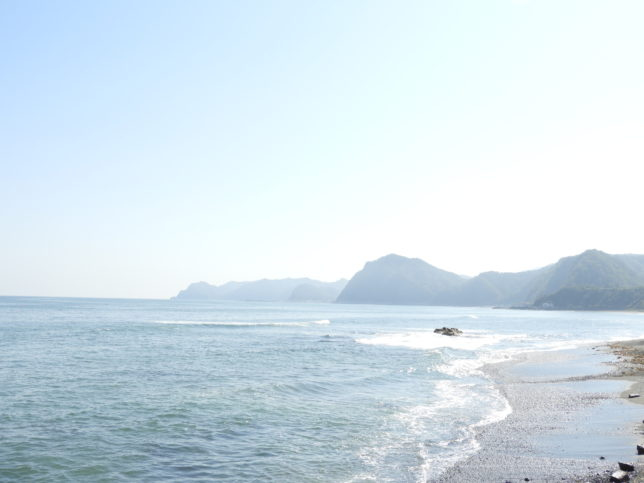 黄金道路(広尾側)海の景観