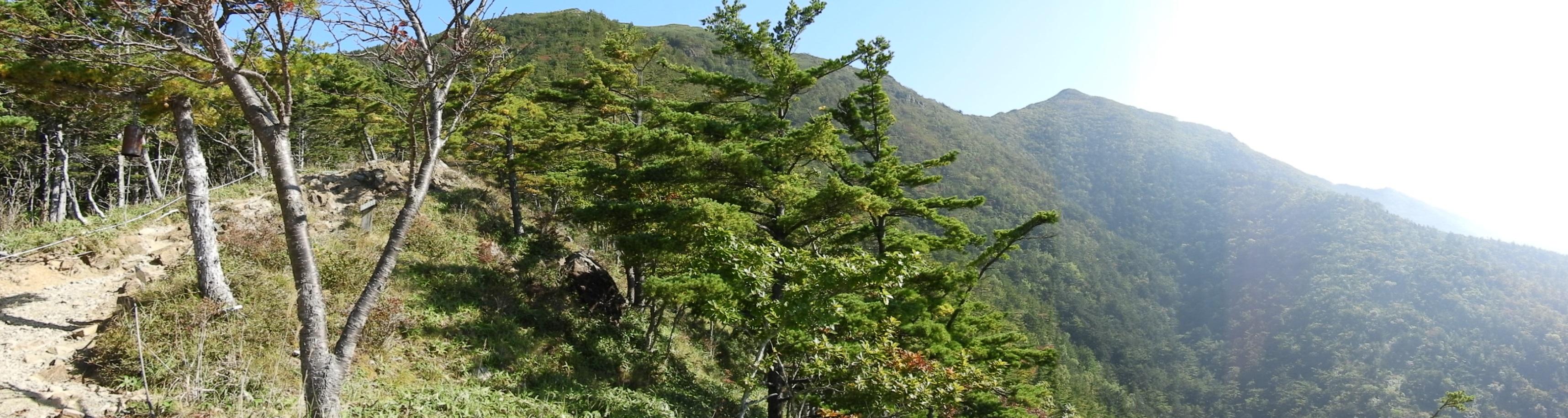 アポイ岳5合目からの景観