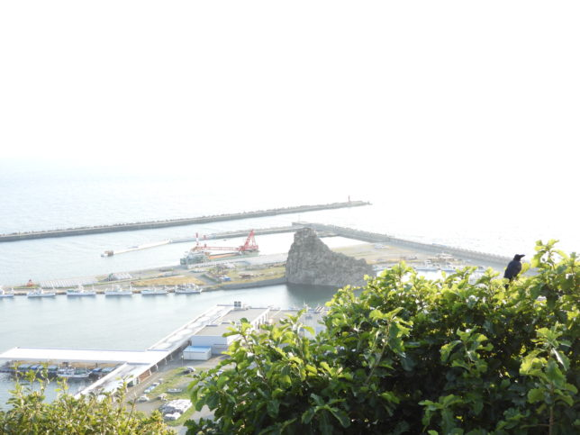 観音山からソビラ岩