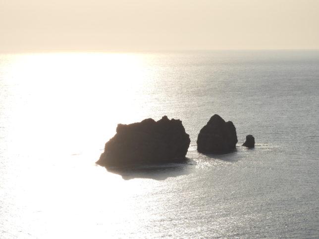 観音山から親子岩