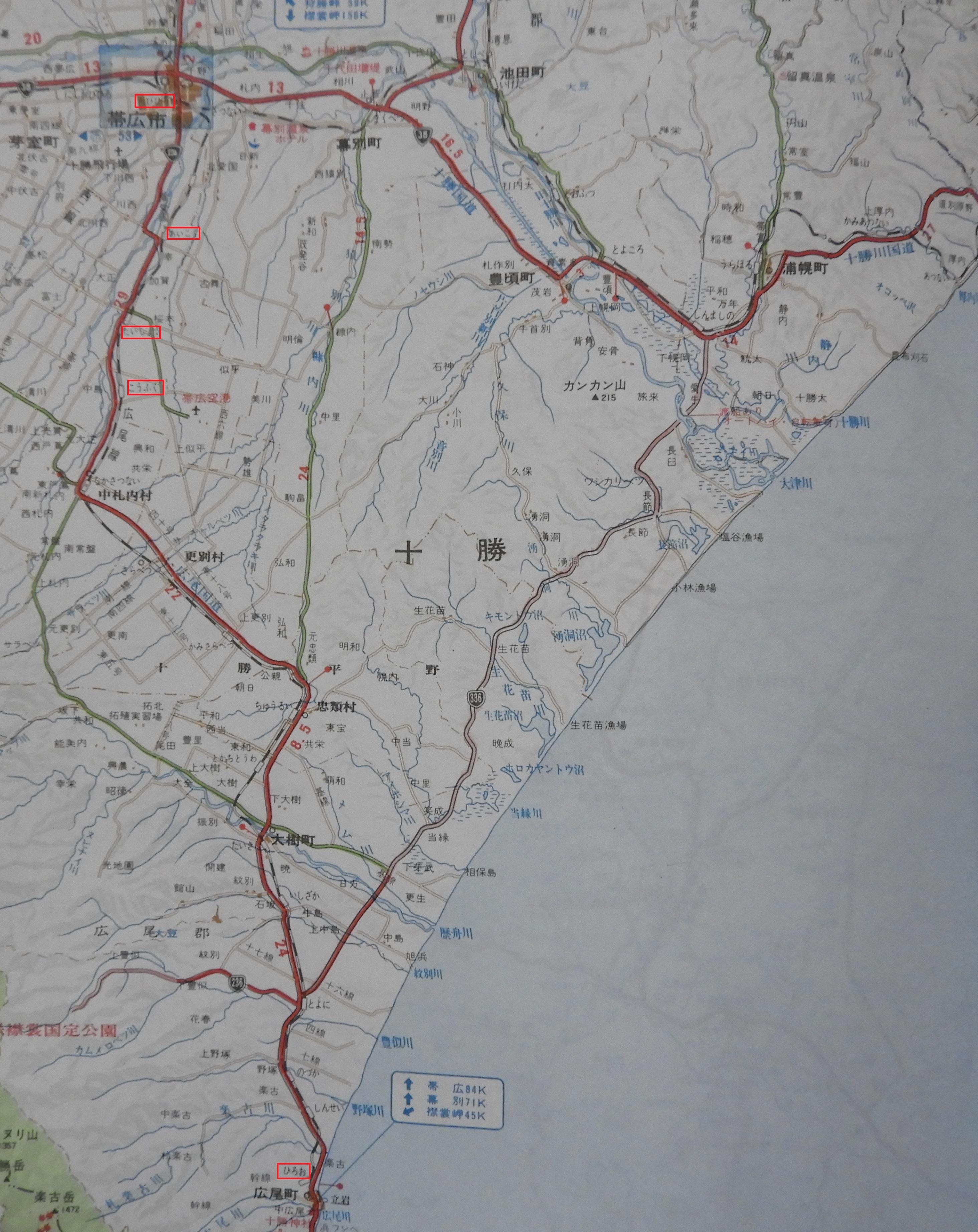 広尾線地図