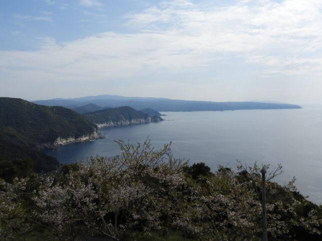 大堂展望台から大堂海岸方面