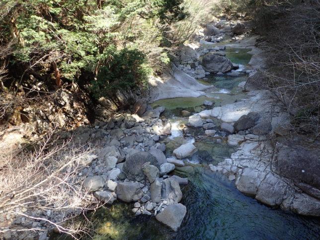 楓渓橋下流