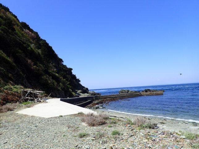 オソゴエ海岸(瀬戸内海側)