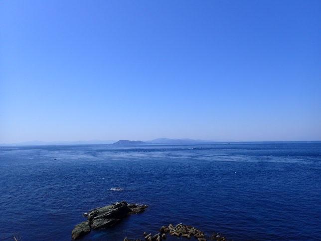 灯台から九州方面