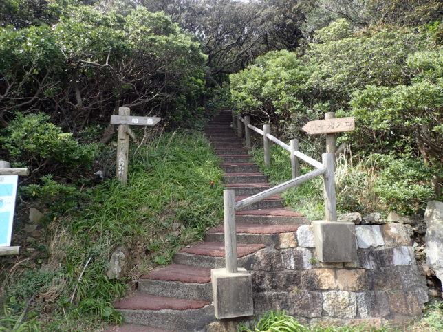 観音岩登り口