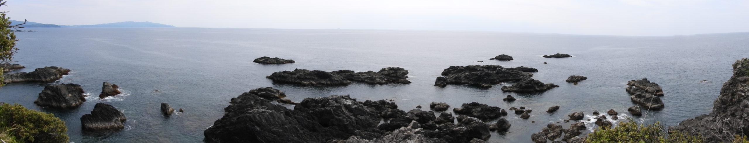 叶崎先端部より(パノラマ撮影)