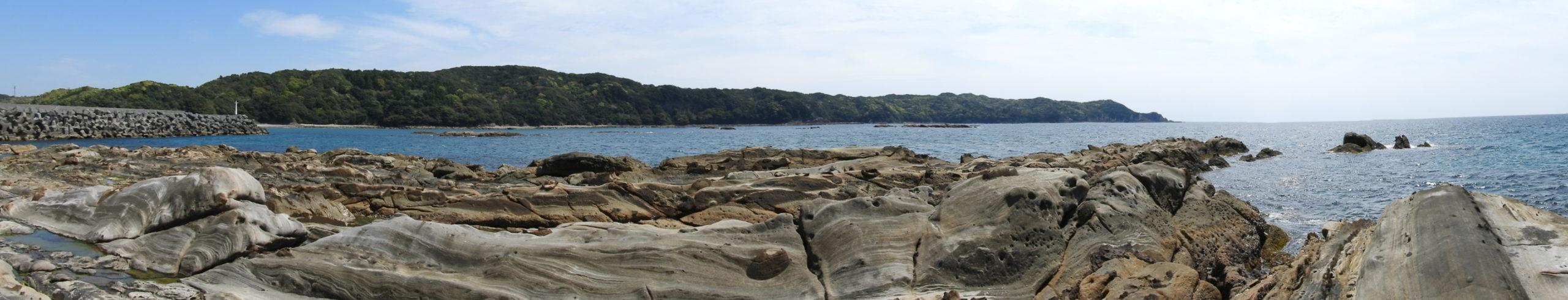 竜串海岸からの全体景観