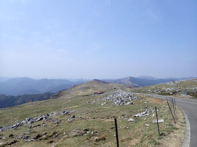 五段高原から姫鶴荘方面
