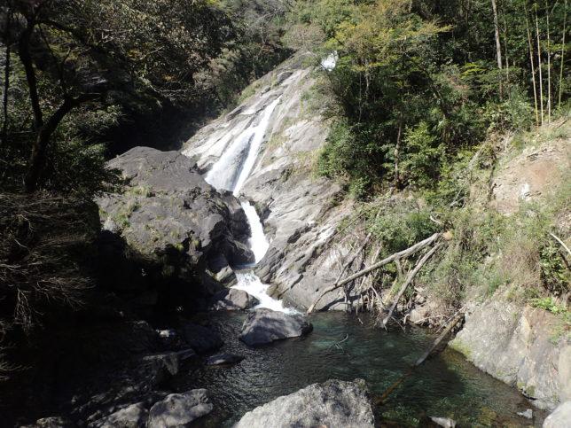 三段目(下)の滝