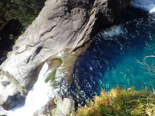 一段目の滝壺