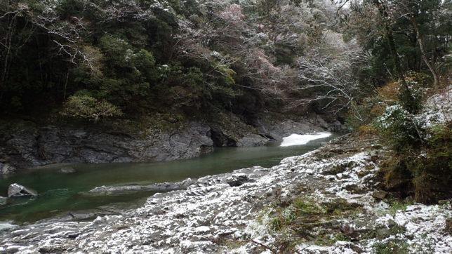 祖谷川(かずら橋近く)